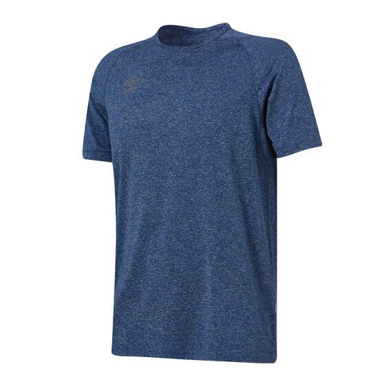 Umbro Mens Performance Training Tee, Blue, rebel_hi-res