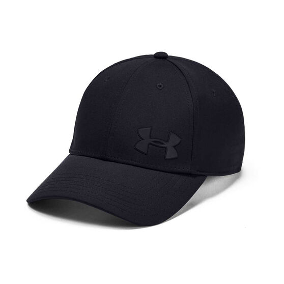 Under Armour Mens Headline 3 Cap, Black, rebel_hi-res