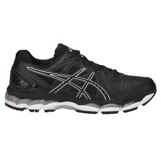 Asics Gel 800XTR Mens Training Shoes Black / Silver US 7, Black / Silver, rebel_hi-res