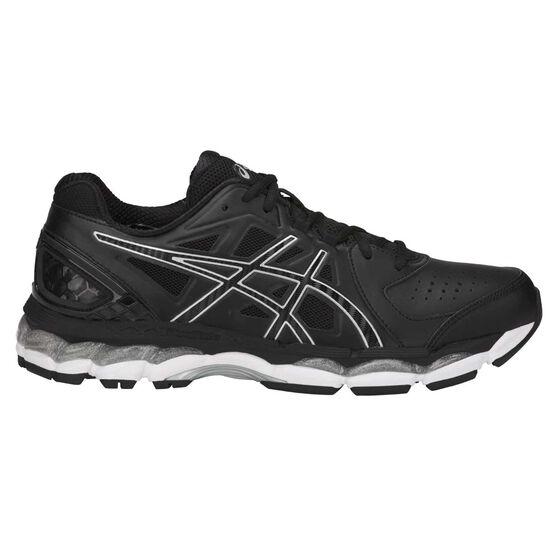 Asics Gel 800XTR Mens Training Shoes, Black / Silver, rebel_hi-res