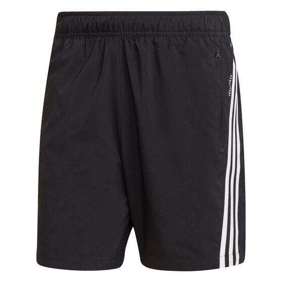 adidas Mens Future Icons Woven Shorts, Black, rebel_hi-res