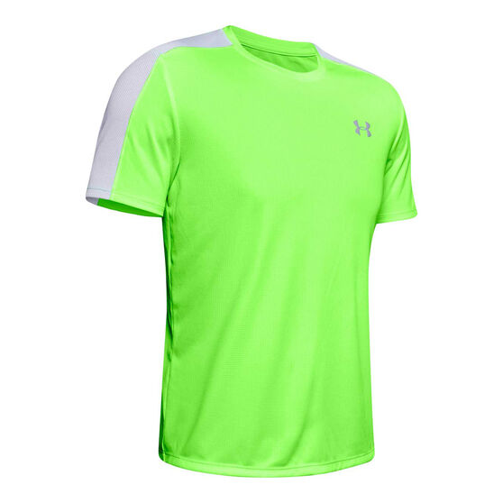 Under Armour Mens Speed Stride Tee Green S, Green, rebel_hi-res