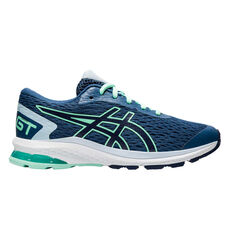 Asics GT 1000 9 Kids Running Shoes Blue US 4, Blue, rebel_hi-res