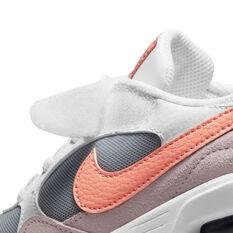 Nike Air Max SC Kids Casual Shoes, White/Peach, rebel_hi-res