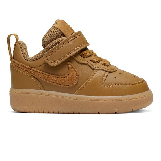 Nike Court Borough Low 2 Toddlers Shoes, Brown, rebel_hi-res