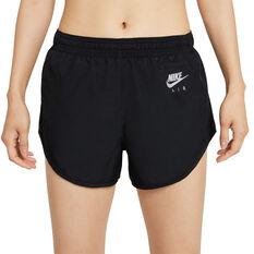 Nike Air Womens Brief-Lined Running Shorts Black XS, Black, rebel_hi-res