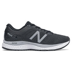 New Balance Solvi 2E Mens Running Shoes Black/White US 7, Black/White, rebel_hi-res