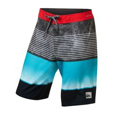Quiksilver Mens Highline Slab Board Shorts Blue 30, Blue, rebel_hi-res