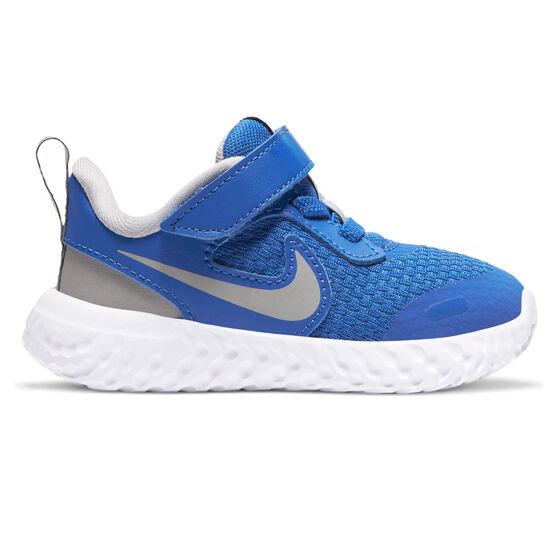 Nike Revolution 5 Toddlers Shoes Blue/White US 6, Blue/White, rebel_hi-res