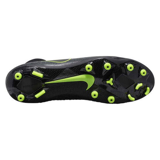 Nike Phantom Vision Academy Dynamic Fit Football Boots, Black / Yellow, rebel_hi-res