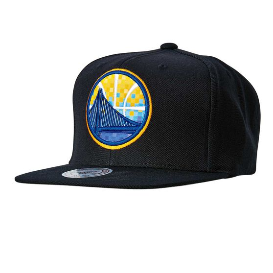 Golden State Warriors 2018 Easy Three Digital Snapback Cap OSFA, , rebel_hi-res