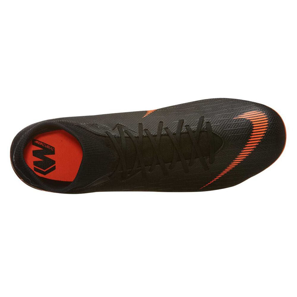 721a6f28189d Nike Mercurial Superfly 6 Academy MG Mens Football Boots Black   Orange US  7 Adult
