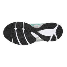 Asics GEL 195TR Leather D Womens Training Shoes White / Mint US 6, White / Mint, rebel_hi-res