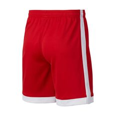 Nike Boys Dri-FIT Academy Football Shorts Red / White S, Red / White, rebel_hi-res