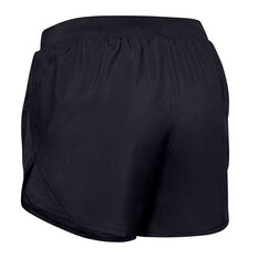 Under Armour Womens Fly By 2.0 Shorts Black, Black, rebel_hi-res