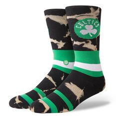 Stance Mens Boston Celtics Acid Wash Socks Multi M, Multi, rebel_hi-res