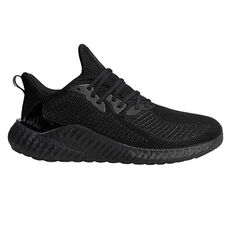 adidas Alphaboost Mens Running Shoes Black / Grey US 8, Black / Grey, rebel_hi-res