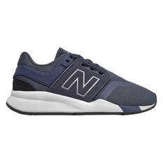 New Balance 247 v2 Kids Casual Shoes Navy / White US 11, Navy / White, rebel_hi-res