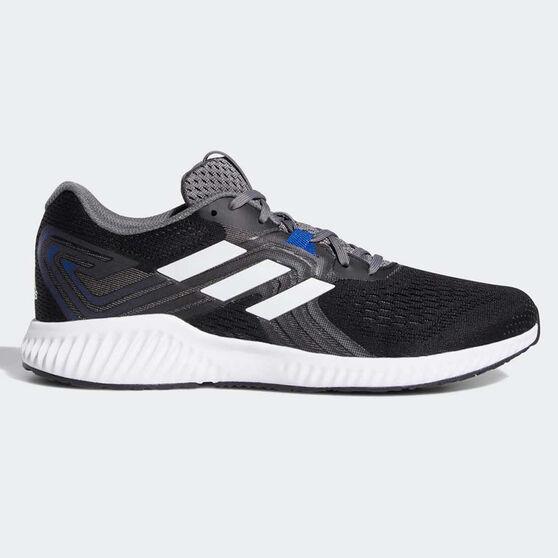 adidas Aerobounce 2 Mens Running Shoes, Black / White, rebel_hi-res