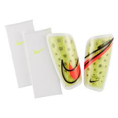 Nike Mercurial Lite Shin Guards White/Yellow XS, White/Yellow, rebel_hi-res