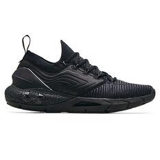 Under Armour HOVR Phantom 2 Mens Running Shoes Black/Grey US 7, Black/Grey, rebel_hi-res