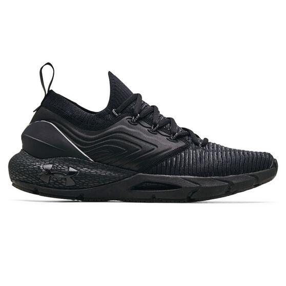Under Armour HOVR Phantom 2 Mens Running Shoes, Black/Grey, rebel_hi-res