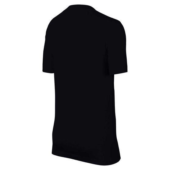 Nike Boys Sportswear JDI Stack Tee, Black / White, rebel_hi-res