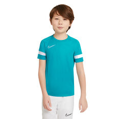 Nike Kids Dri-Fit Academy 21 Soccer Tee Green XS, Green, rebel_hi-res
