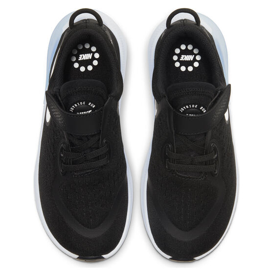 Nike Joyride Dual Run Kids Running Shoes, Black / White, rebel_hi-res