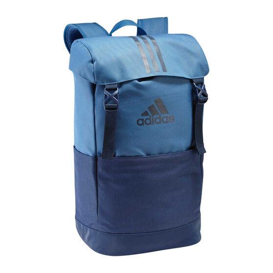 adidas Training Backpack Blue, , rebel_hi-res