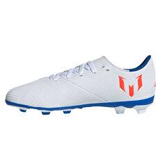 adidas Nemeziz Messi 19.4 Kids Football Boots White / Red US 6, White / Red, rebel_hi-res