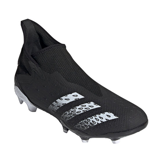 adidas Predator Freak .3 Laceless Football Boots, Black, rebel_hi-res