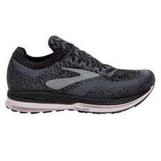 Brooks Bedlam Womens Running Shoes Black / Pink US 6, Black / Pink, rebel_hi-res