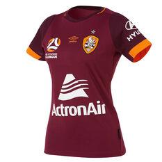 Brisbane Roar 2018 / 19 Womens Third Jersey Red / Orange 10, Red / Orange, rebel_hi-res