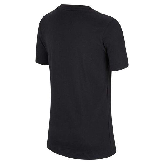 Nike Boys Camo Tee, Black, rebel_hi-res