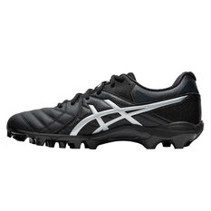 Asics GEL Lethal 18 Football Boots, Black / Silver, rebel_hi-res