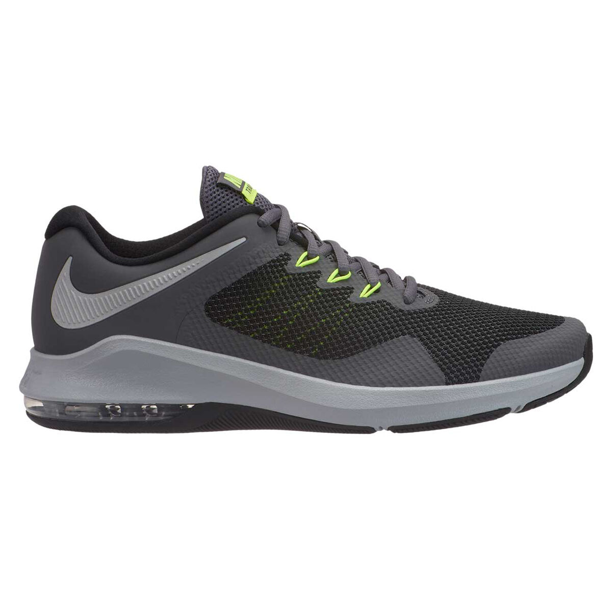 NIKE AIR MAX ALPHA TRAINER in grey white men's running Shoes
