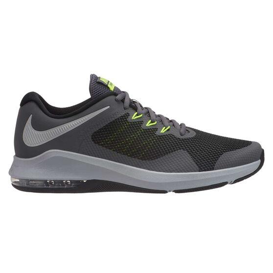 Nike Air Max Alpha Trainer Mens Training Shoes, Grey / Silver, rebel_hi-res