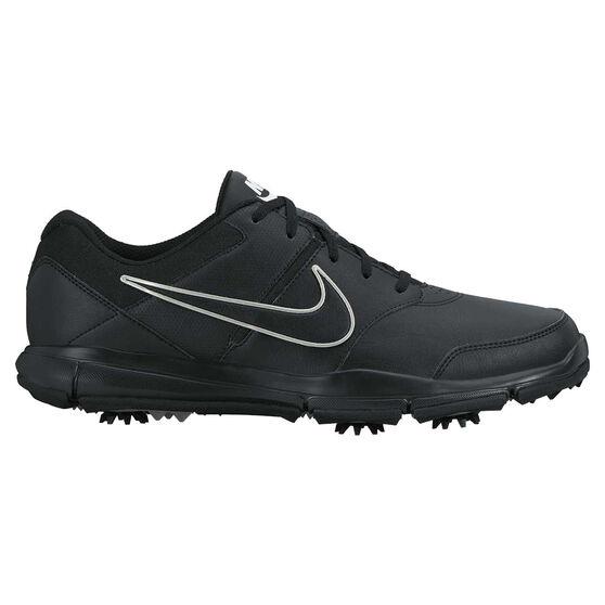 Nike Durasport 4 Mens Golf Shoes, Black / Silver, rebel_hi-res