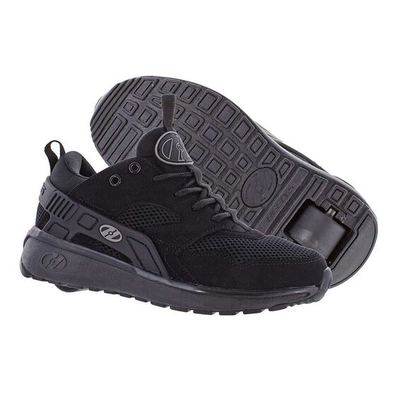 Heelys Force Boys Shoes Black US 2, Black, rebel_hi-res