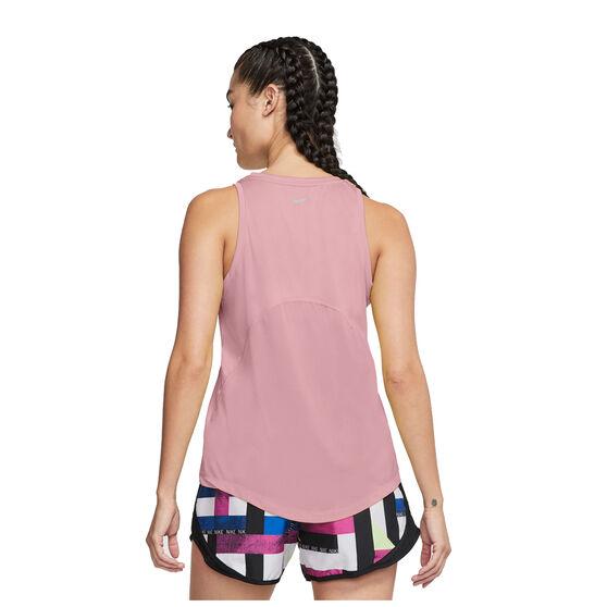 Nike Womens Miler Tank, Pink, rebel_hi-res