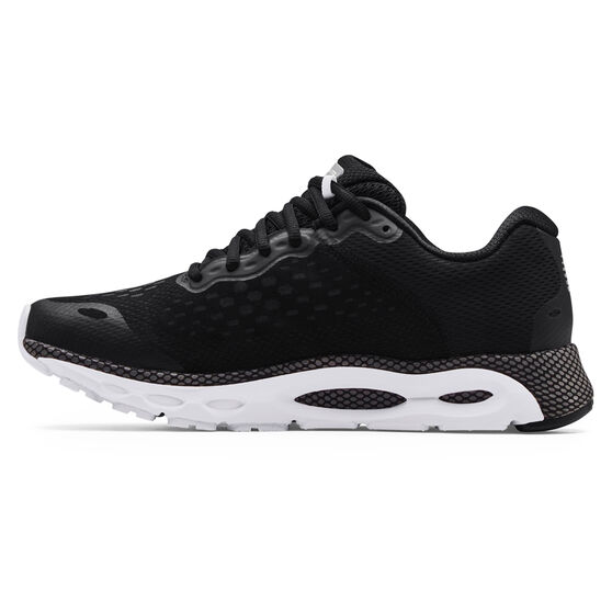 Under Armour HOVR Infinite 3 Mens Running Shoes, Black/White, rebel_hi-res