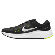 Nike Air Zoom Structure 23 Mens Running Shoes Black/Silver US 7, Black/Silver, rebel_hi-res