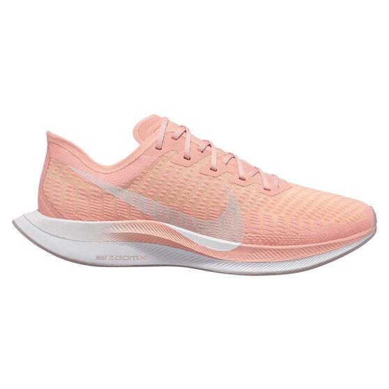Nike Zoom Pegasus Turbo 2 Womens Running Shoes, Pink / White, rebel_hi-res