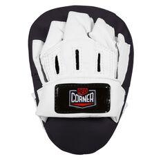 Red Corner Junior Boxing Glove and Focus Pad Kit Black 6oz, , rebel_hi-res
