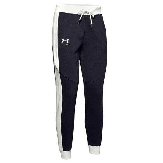 Under Armour Womens Rival Fleece Graphic Novelty Pants, , rebel_hi-res