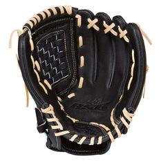 Rawlings SS 12in RHT Baseball Glove Black / Grey 12in, , rebel_hi-res