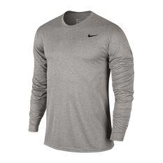 Nike Mens Dry Legend 2.0 Longsleeve Training Tee Dark Grey S, Dark Grey, rebel_hi-res