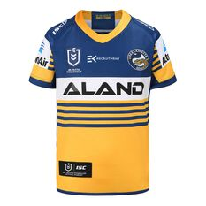 Parramatta Eels 2020 Kids Home Jersey Yellow / Blue 6, Yellow / Blue, rebel_hi-res