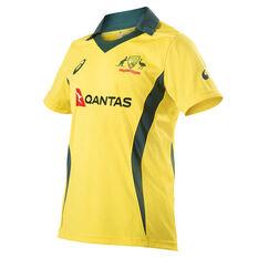 Cricket Australia 2018 Mens Replica ODI Home Shirt, , rebel_hi-res